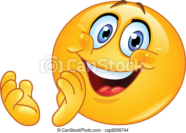 emoticon, clapping - csp9299744