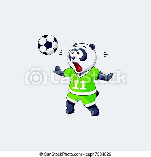 Emoticon Gefuhl Fangt Fussball Aufkleber Fliegendes