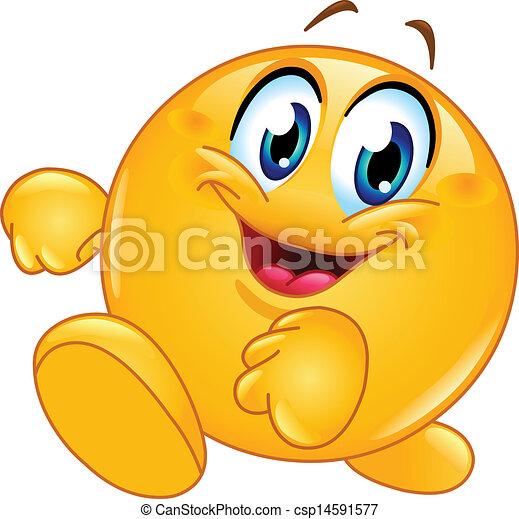 Gehe emoticon - csp14591577