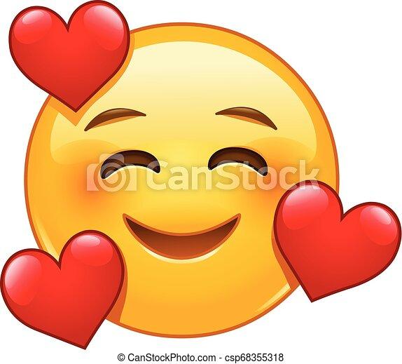 emoticon hartjes het glimlachen 3 emoticon drie