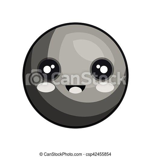 emoticon kawaii style icon - csp42455854