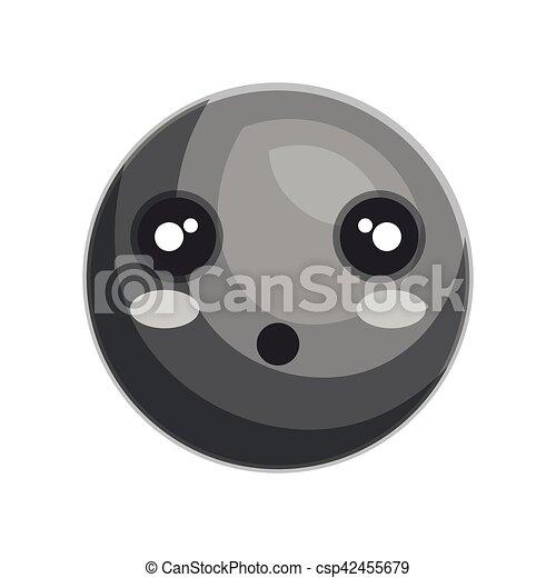 emoticon kawaii style icon - csp42455679