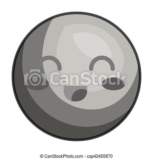 emoticon kawaii style icon - csp42455870