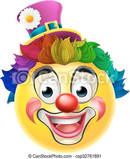 Emoticon Klaun Emoji Emoticon Duha Paruka Cinit Smiley