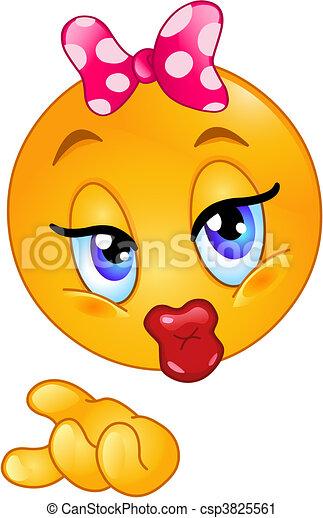 kysse smiley tegn