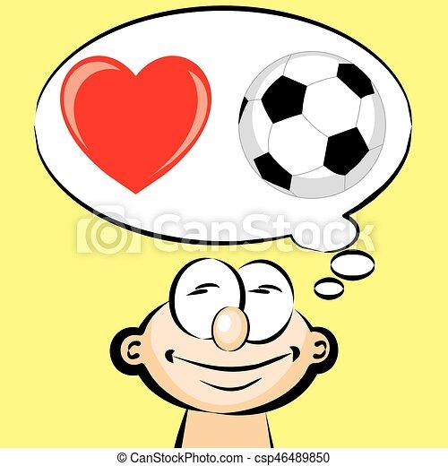 Emoticon Liebe Fussball Liebe Emoji Abbildung