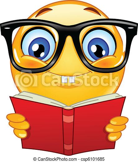 emoticon, nerd - csp6101685