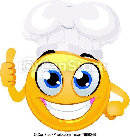 Emoticon Ok Smiley Signe Chef Cuistot Main Chapeau Emoticon Ok Smiley Illustration Main Chef Cuistot Vecteur Canstock