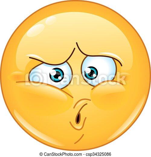 Ouch emoticono - csp34325086