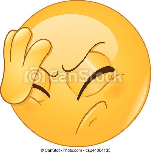 Emoticon de la palma - csp44004135