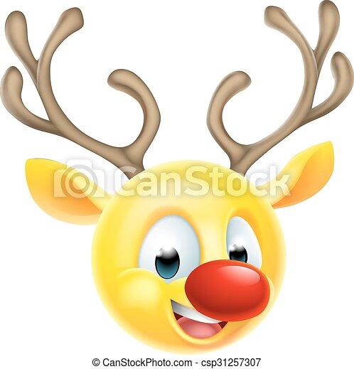 emoticon rentier weihnachten emoji emoticon zeichen. Black Bedroom Furniture Sets. Home Design Ideas