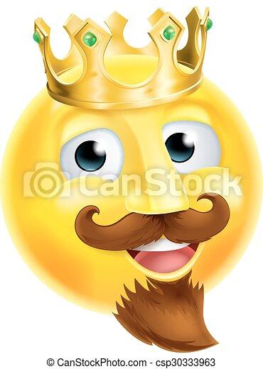 emoticon, roi, emoji - csp30333963