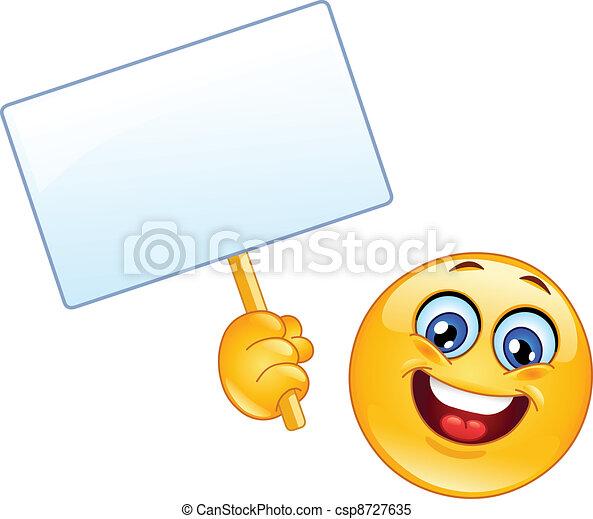 emoticon, signe - csp8727635