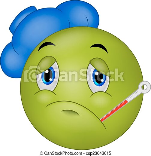 Emoticon smiley dessin anim malade emoticon smiley - Dessin malade ...