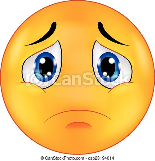 Emoticon smiley dessin anim triste emoticon smiley - Dessin triste ...
