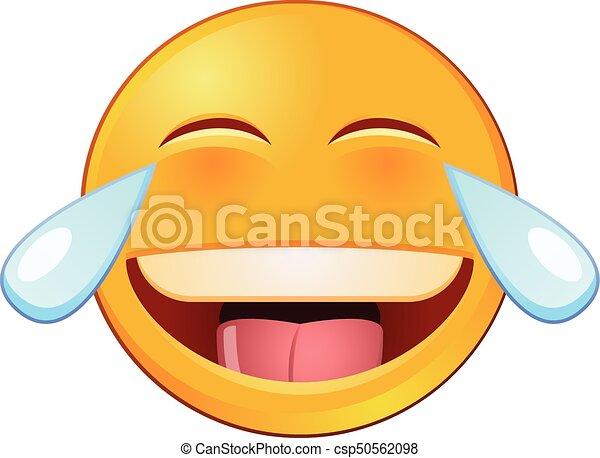 lachen tränen