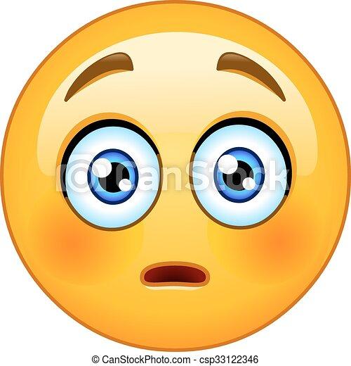 emoticon eps nivelado emoticon envergonhado nivelado bochechas