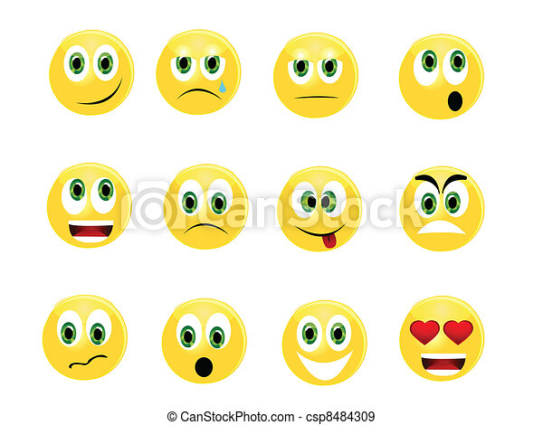 Emoticons - csp8484309