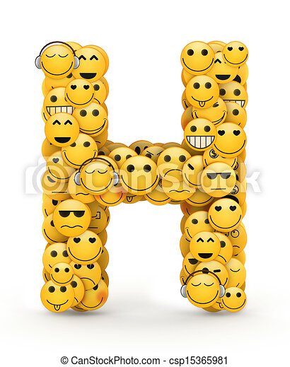 Emoticons letter h letter h compiled from emoticons smiles with emoticons letter h csp15365981 altavistaventures Image collections
