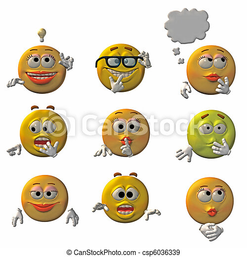 emoticons - smileys - csp6036339