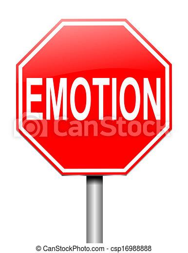 Emotion concept. - csp16988888
