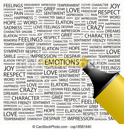 EMOTIONS. - csp18581640