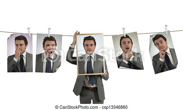 emozioni, affari - csp13346860