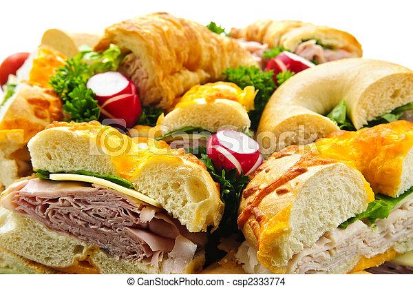 Bandeja de sándwich - csp2333774