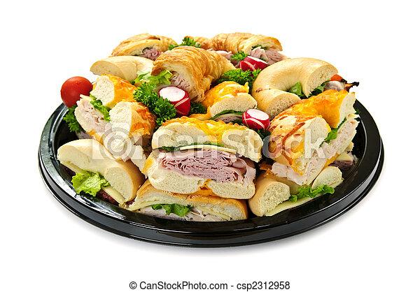 Bandeja de sándwich - csp2312958