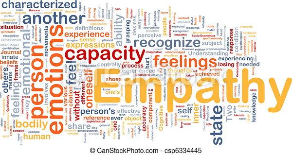Empathy background concept - csp6334445