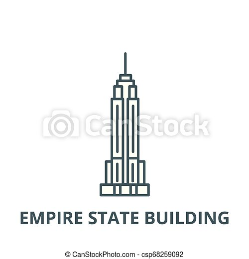 Pin Empire State Building Clipart Black #876381 - PNG Images - PNGio
