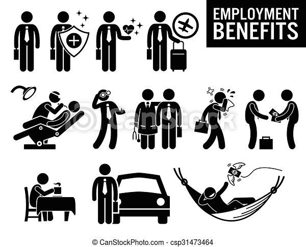 Beneficios laborales - csp31473464