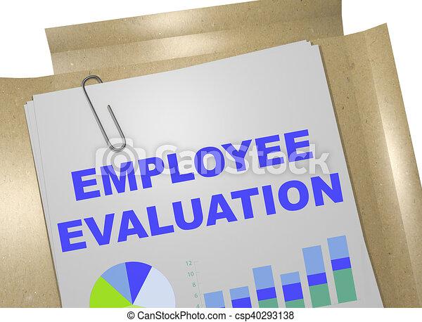 Employee Evaluation concept - csp40293138
