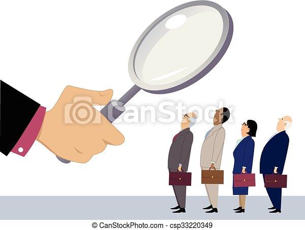Employee evaluation - csp33220349