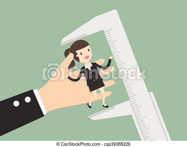 Employee Evaluation. - csp39388226
