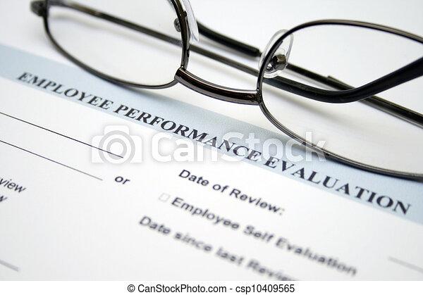 Employee performance evaluation - csp10409565