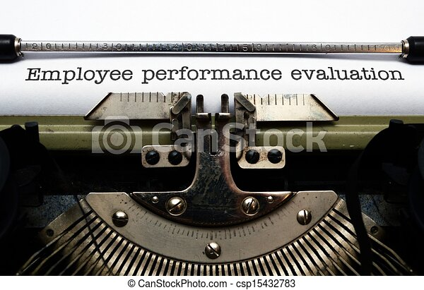 Employee performance evaluation - csp15432783