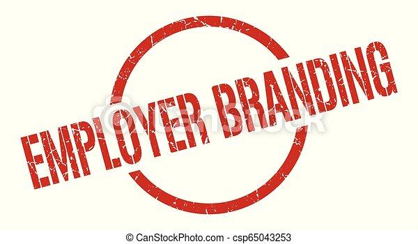 employer branding stamp - csp65043253