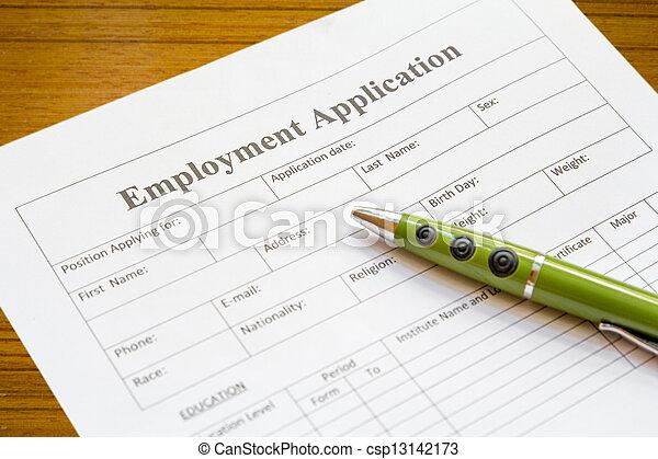 employment application - csp13142173
