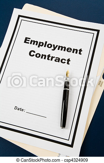 Employment Contract - csp4324909
