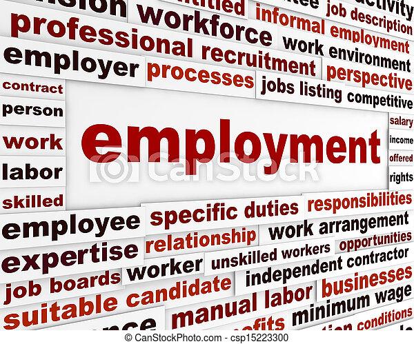 Employment creative design - csp15223300