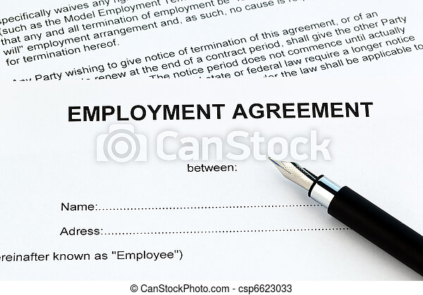 Employment in the English language - csp6623033
