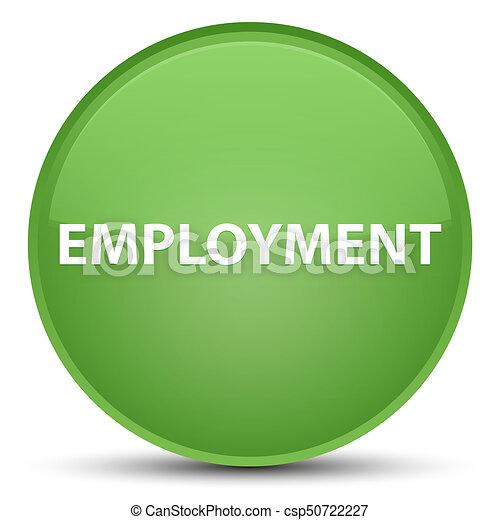 Employment special soft green round button - csp50722227