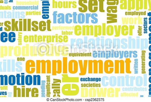 Employment - csp2362375
