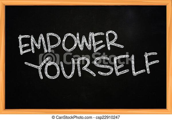 Empower Yourself - csp22910247
