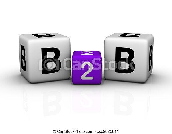 Negocios a negocios - csp9825811