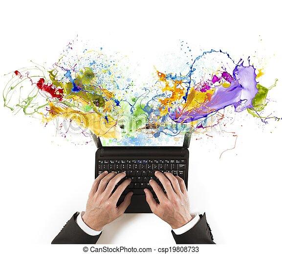 empresa / negocio, creativo - csp19808733