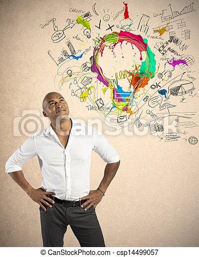 empresa / negocio, creativo - csp14499057
