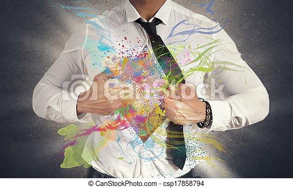 empresa / negocio, creativo - csp17858794