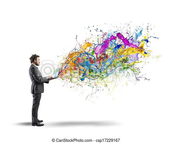 empresa / negocio, creativo - csp17229167